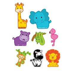 Large Jungle Animal Silhouettes (Pack of 10)