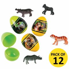Zoo Animals Water Squirts (Pack of 12)