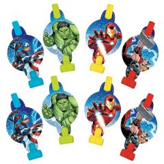 Avengers Epic Party Blowers (Pack of 8)