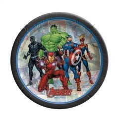 Avengers Marvel Powers Unite Small Paper Plates (Pack of 8)