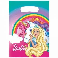 Barbie Lolly/Treat Bags (Pack of 8)
