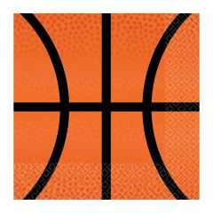 Nothin' But Net Basketball Small Napkins / Serviettes (Pack of 36)
