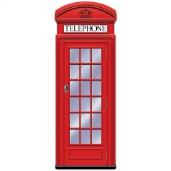 Jointed Phone Box Cutout Decoration