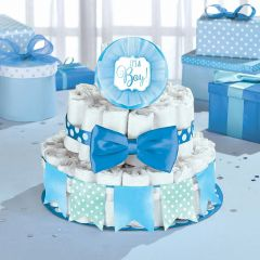 Baby Shower It's a Boy Diaper Cake Decorating Kit