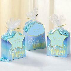 Oh Baby Boy Favour Box Kit (Pack of 8)