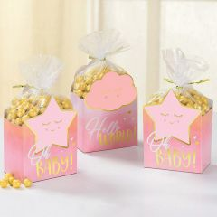 Oh Baby Girl Favour Box Kit (Pack of 8)