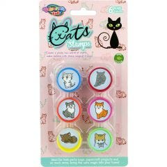Cat Stamps (Pack of 6)