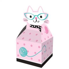 Purr-fect Party Lolly/Treat Boxes (Pack of 8)