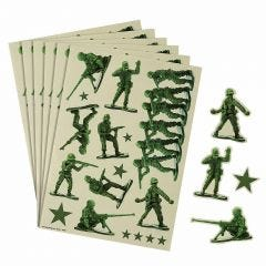 Camouflage Sticker Sheets (Pack of 4)