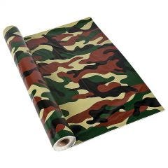 Army Party Camouflage Plastic Tablecloth