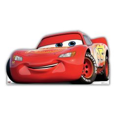 Cars 3 Lightning McQueen Stand Up Photo Prop