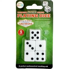 Playing Dice (Pack of 5)