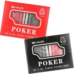 Plastic Coated Playing Cards (2 Decks)