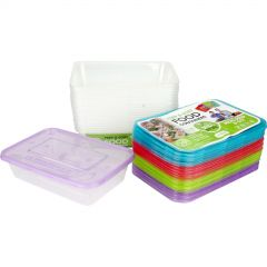 Prep & Sort Food Containers 500ml (Pack of 20)