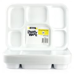 Plastic Bento Divider Trays (Pack of 20)