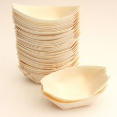 9cm Wooden Boats (Pack of 50)