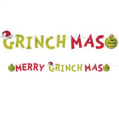 The Grinch Christmas Letter Banner