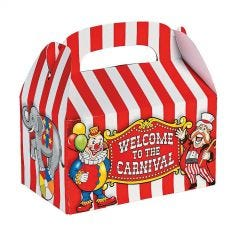 Circus Lolly/Treat Boxes (Pack of 12)