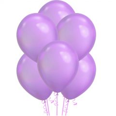 Purple Balloons 30cm Round (Pack of 25)