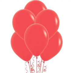 Coral Balloons 30cm (Pack of 18)