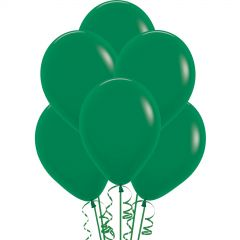 Forest Green Balloons 30cm (Pack of 18)