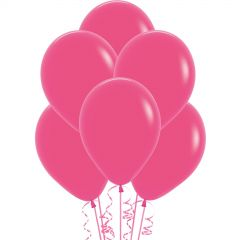 Hot Pink Balloons 30cm (Pack of 18)