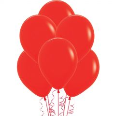 Red Balloons 30cm (Pack of 18)