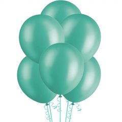 Teal Pearl Balloons (Pack of 20)