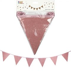 Rose Gold Crepe Streamers (Pack of 6)