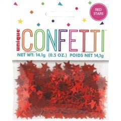 Red Star Confetti/Table Scatters