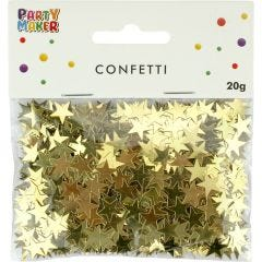 Gold Star Confetti/Table Scatters 1cm (20g)