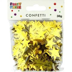 Gold Star Confetti/Table Scatters 1.9cm (30g)