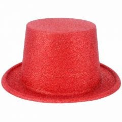 Red Party Hats (Pack of 8)