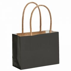 Black Paper Favour Bags (Pack of 12)