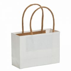 White Paper Favour Bags (Pack of 12)