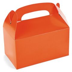 Orange Lolly/Treat Boxes (Pack of 6)