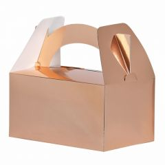 Rose Gold Foil Dots Small Napkins (Pack of 16)