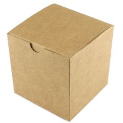 Small Brown Kraft Paper Favour Boxes (Pack of 10)