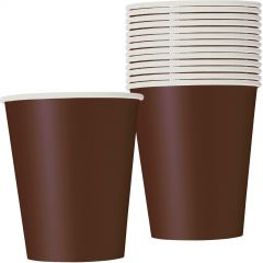 Brown Paper Cups (Pack of 8)