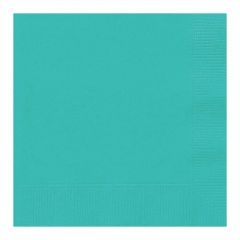 Teal Small Napkins (Pack of 50)