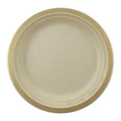 Gold Rim Sugar Cane Small Plates (Pack of 10)