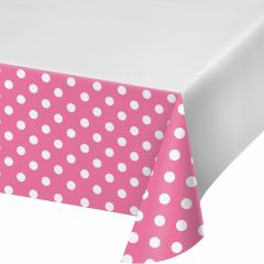 Hot Pink & White Scalloped Paper Cups - Pack of 8
