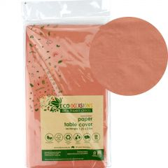 Rose Gold Eco Biodegradable Paper Tablecloth