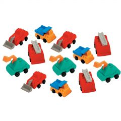 Construction Truck Erasers (Pack of 12)