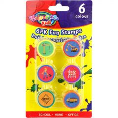 Build & Construct Stamps (Pack of 6)