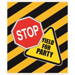 Construction Party Lolly/Treat Bags (Pack of 8)
