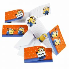 Minions Party Invitations (Pack of 6)