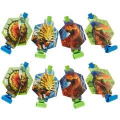 Jurassic World Party Blowers (Pack of 8)