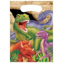 Dino Blast Lolly/Treat Bags (Pack of 8)