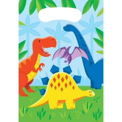 Little Dino Party Treat Bags (Pack of 12)
